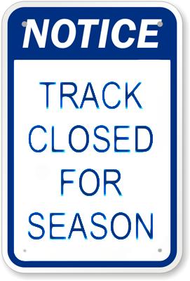 track-closed